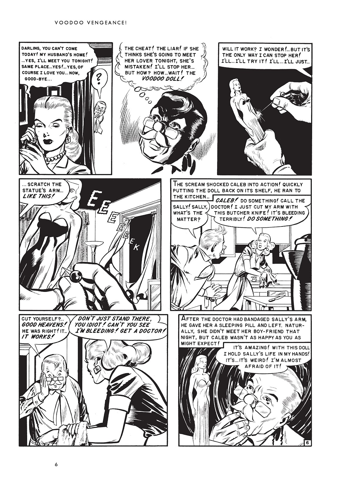 Read online Voodoo Vengeance and Other Stories comic -  Issue # TPB (Part 1) - 23