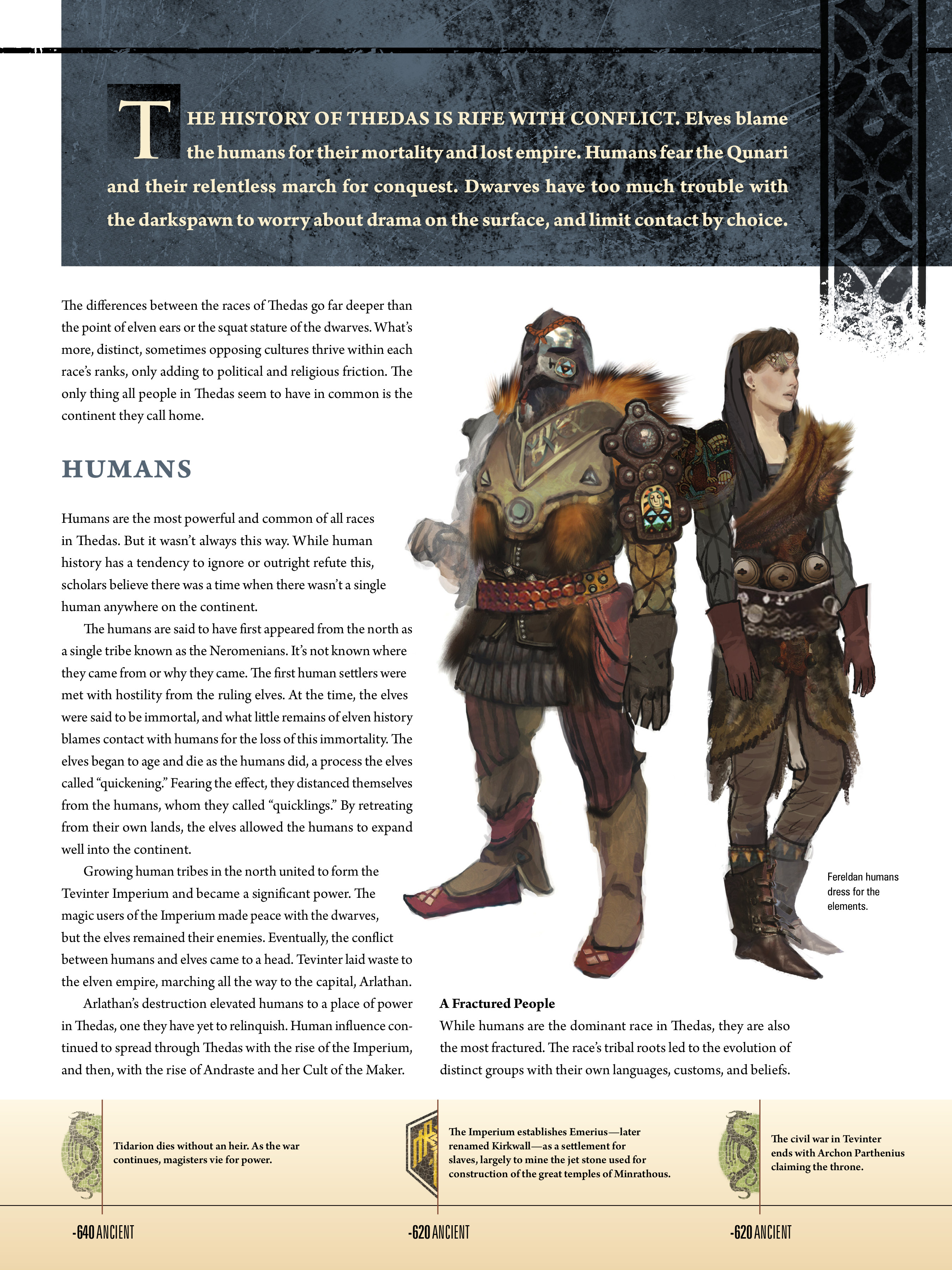 Read online Dragon Age: The World of Thedas comic -  Issue # TPB 1 - 20