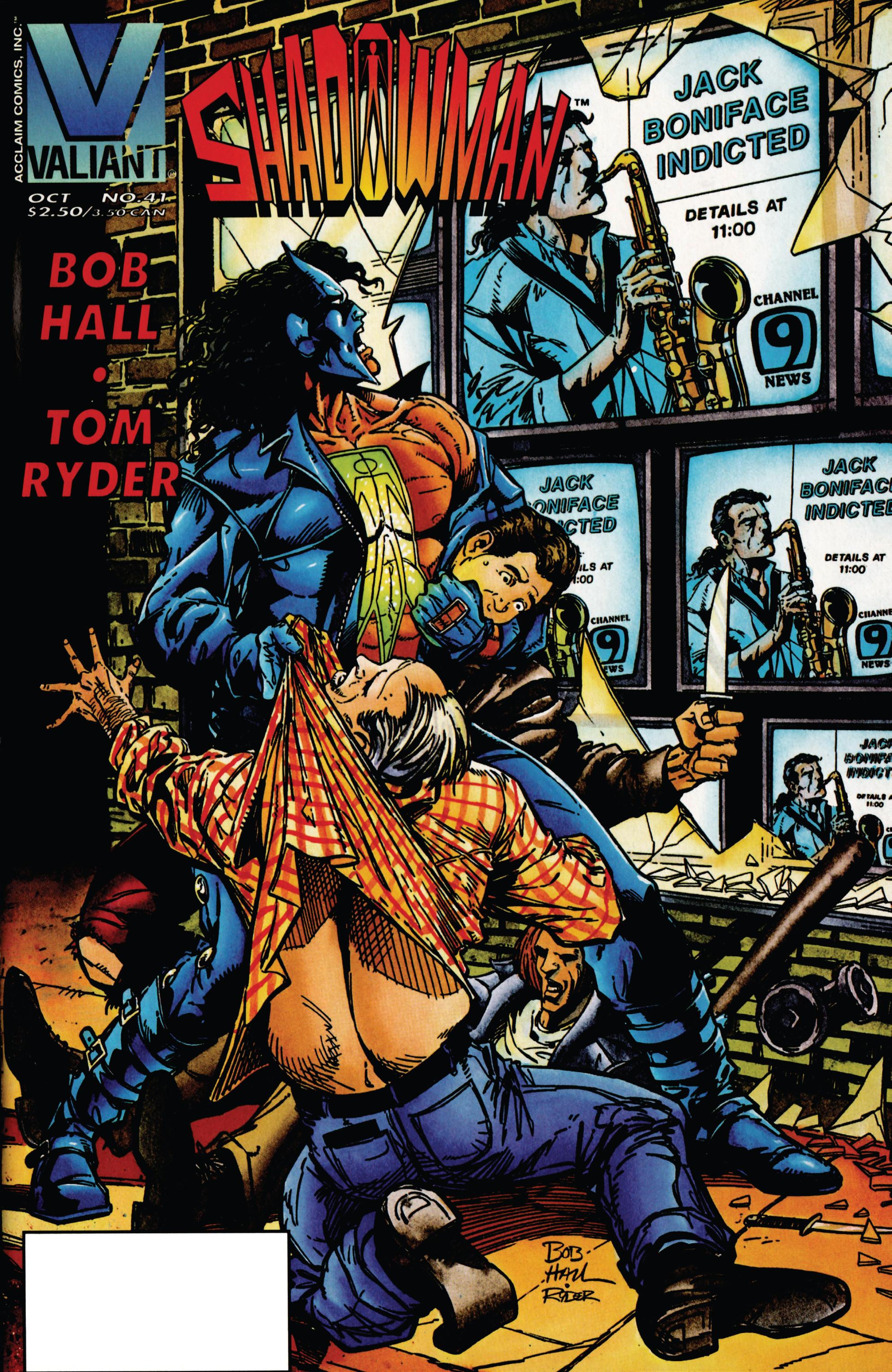 Read online Shadowman (1992) comic -  Issue #41 - 1
