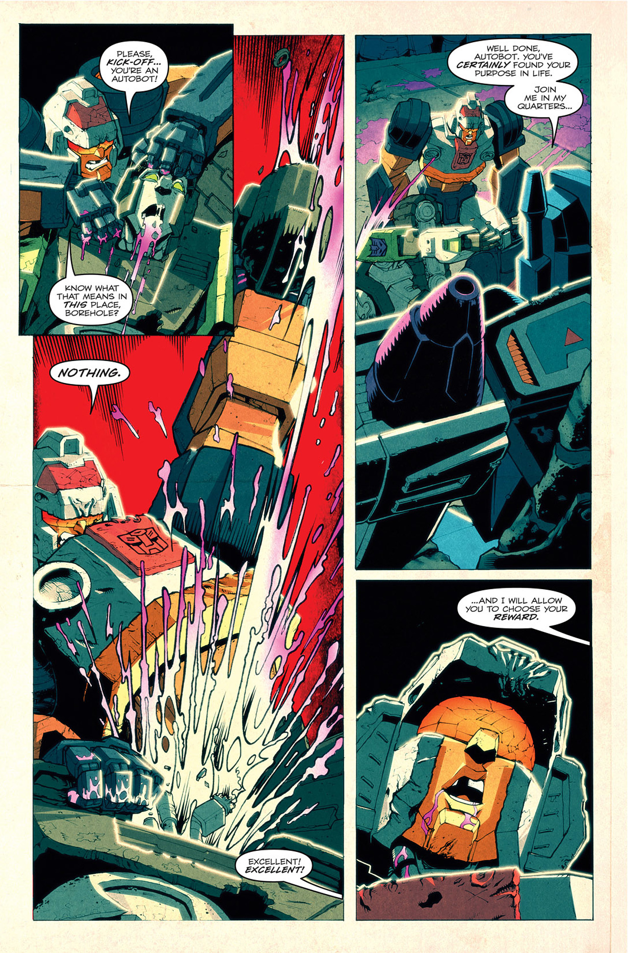 Read online Transformers: Last Stand of The Wreckers comic -  Issue #1 - 24