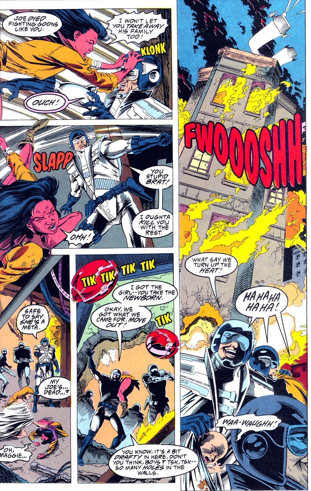 Read online Team Titans comic -  Issue #1b - 6