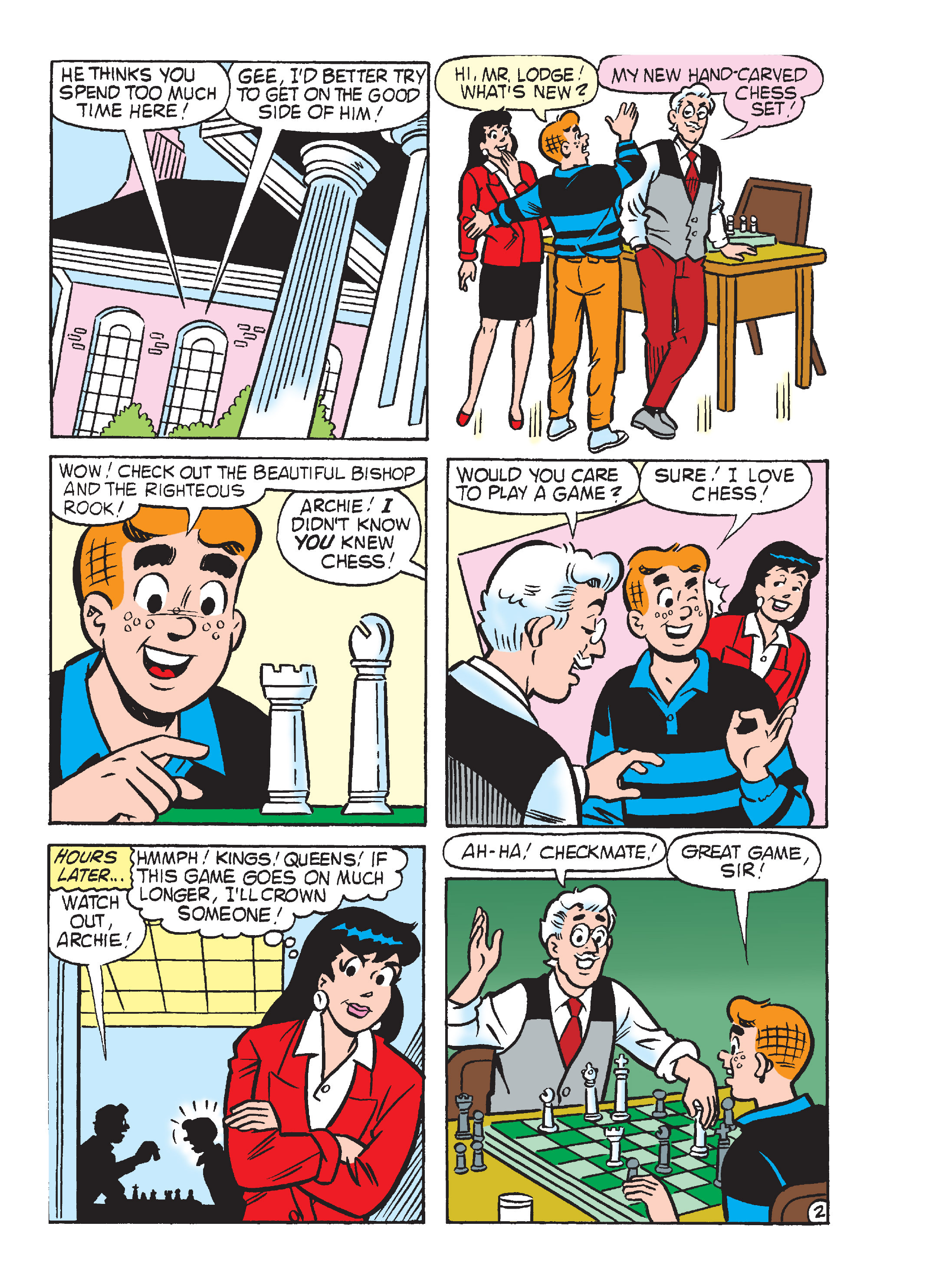 Read online Archie's Funhouse Double Digest comic -  Issue #17 - 15