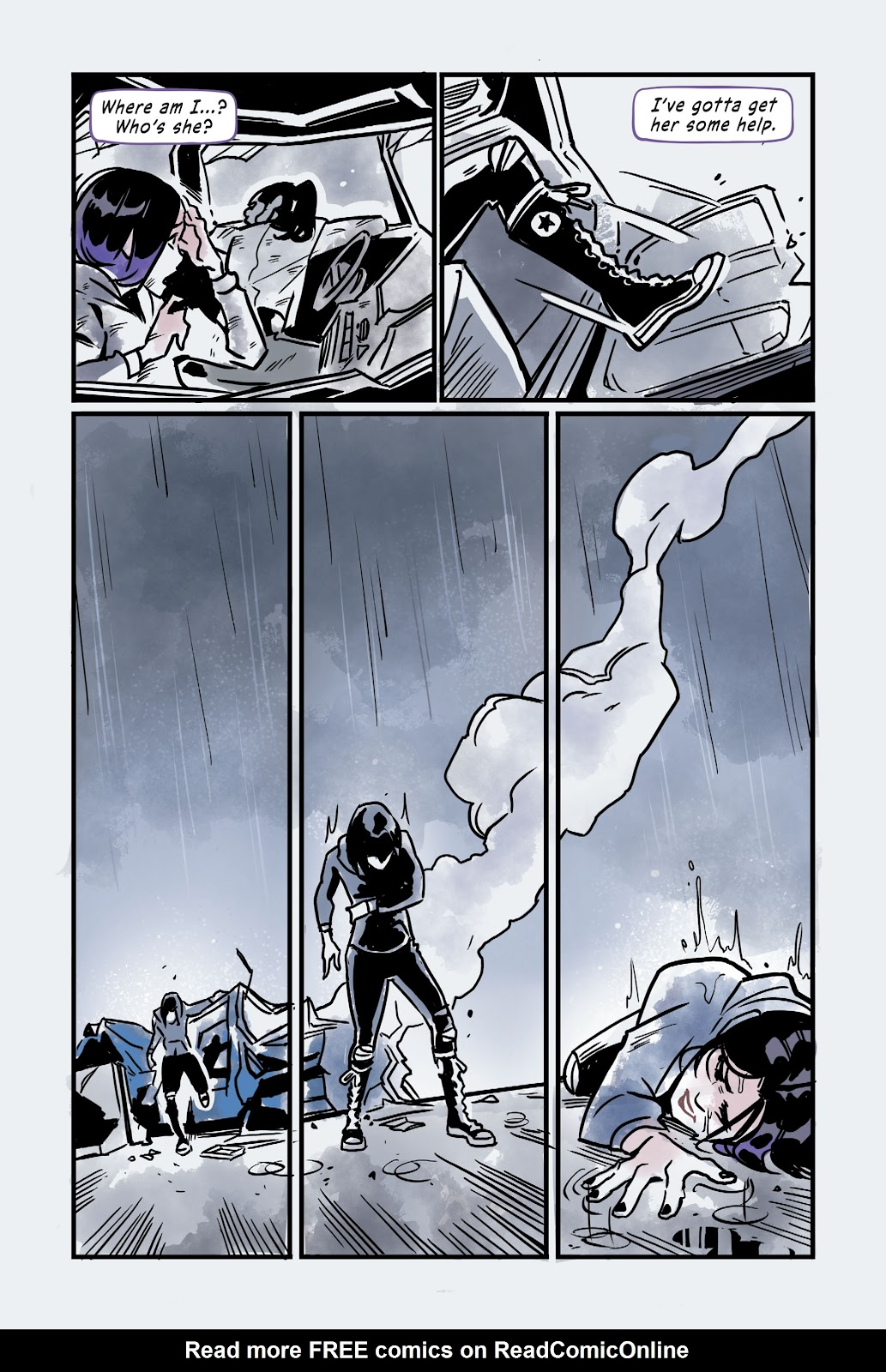 Read online Under the Moon: A Catwoman Tale comic -  Issue # TPB (Part 2) - 107
