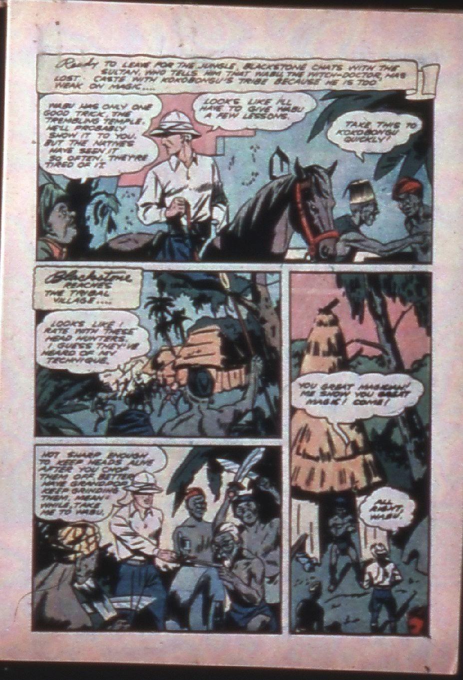 Read online Super-Magician Comics comic -  Issue #7 - 15