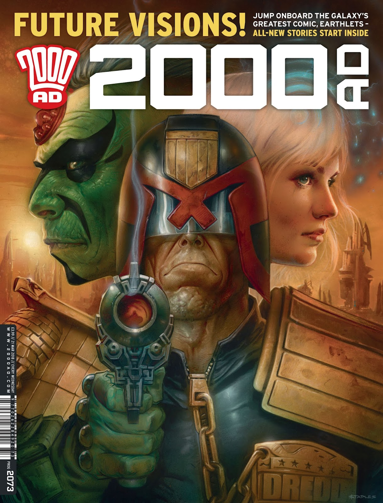 2000 AD issue 2073 - Page 1