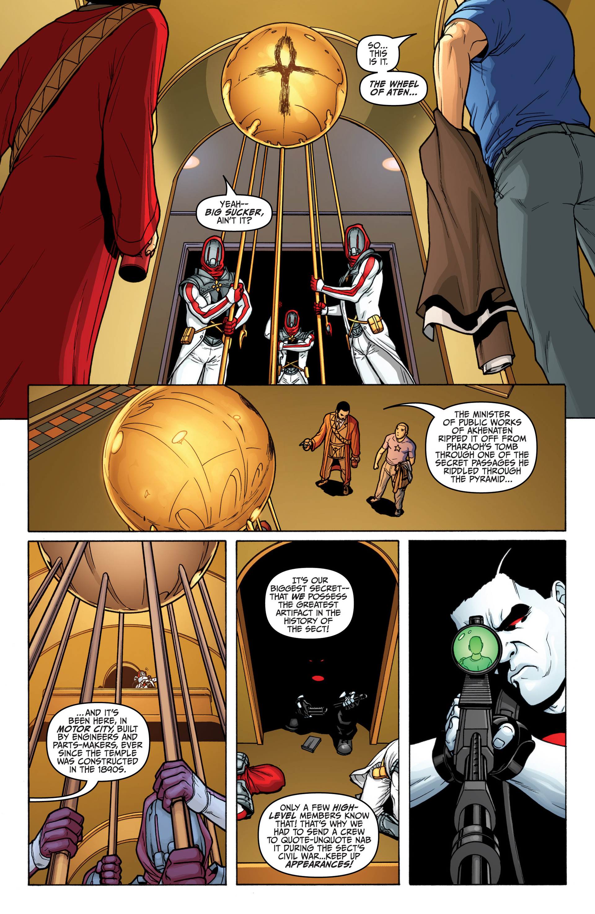 Archer and Armstrong 18 Page 10