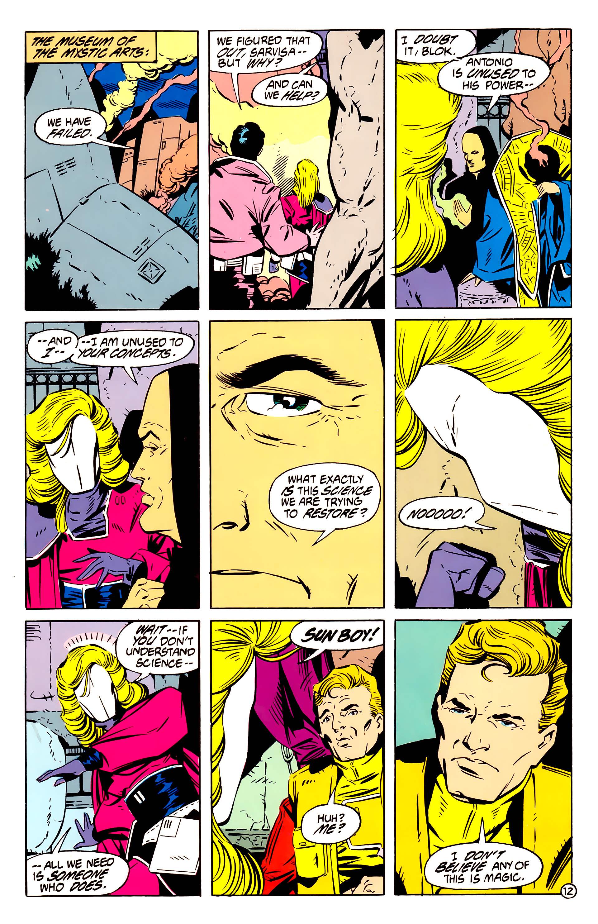 Legion of Super-Heroes (1984) 61 Page 12