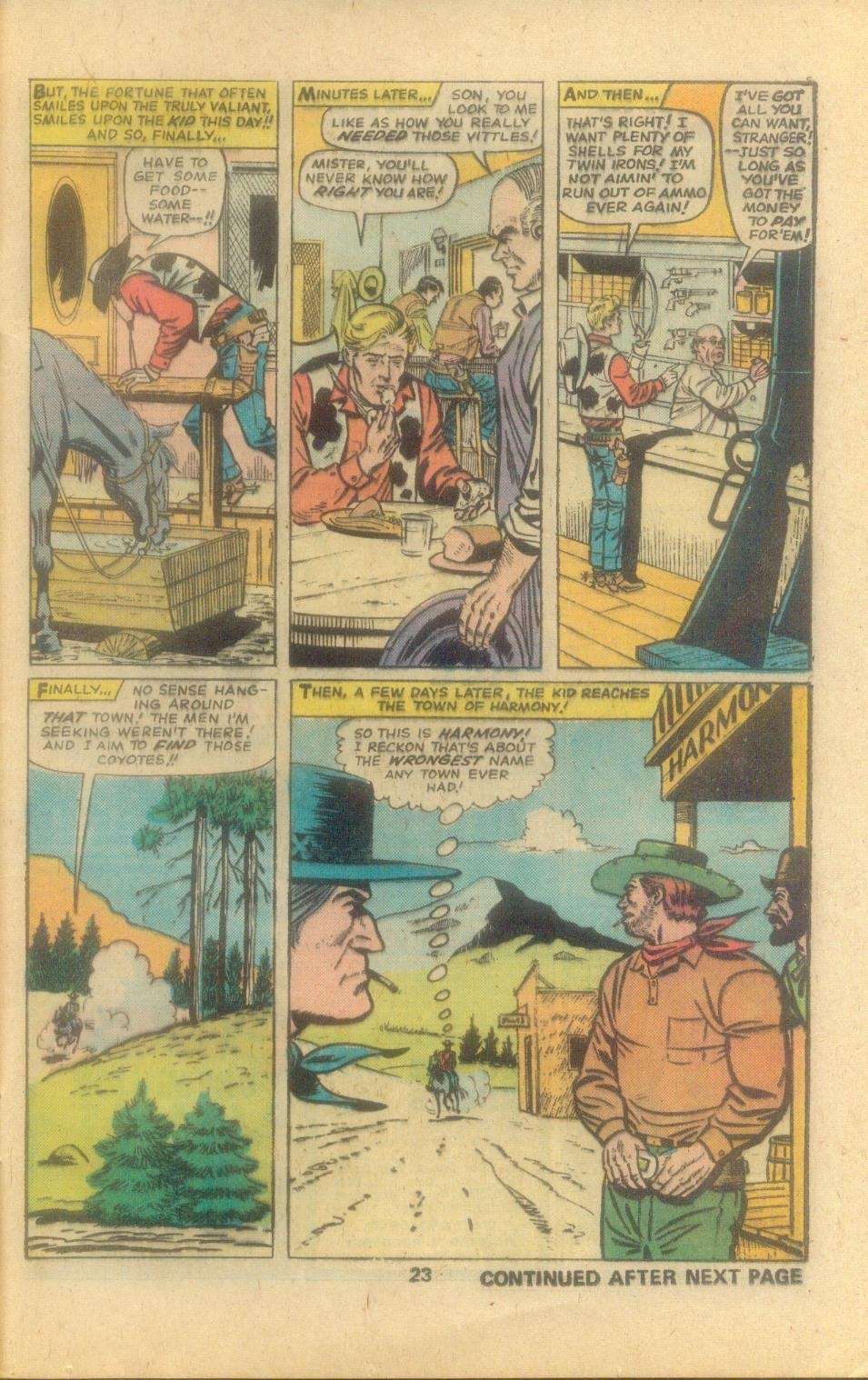 Kid Colt Outlaw issue 194 - Page 25