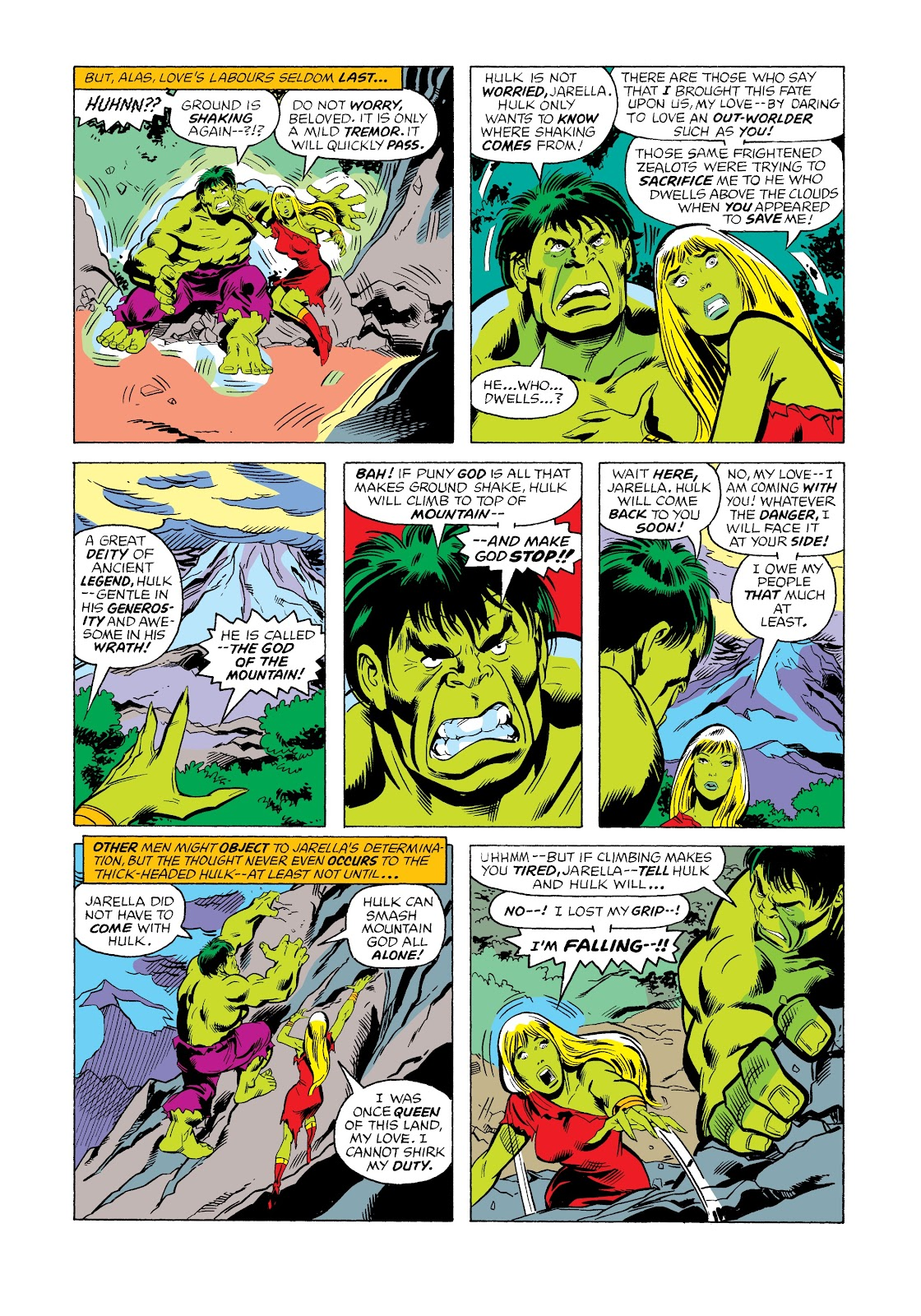 Read online Marvel Masterworks: The Incredible Hulk comic -  Issue # TPB 12 (Part 2) - 48