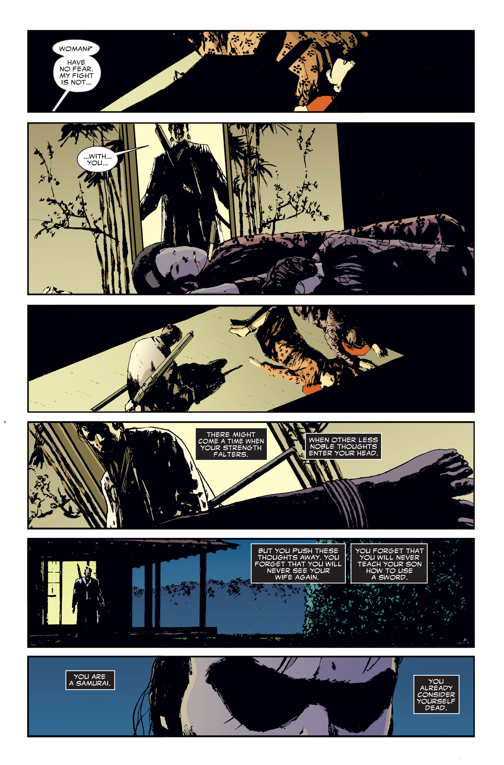Read online 5 Ronin (2011) comic -  Issue #3 - 19