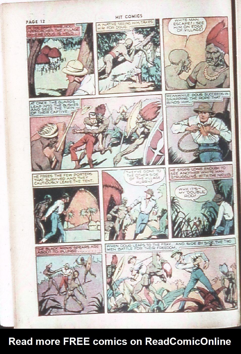 Read online Hit Comics comic -  Issue #7 - 14