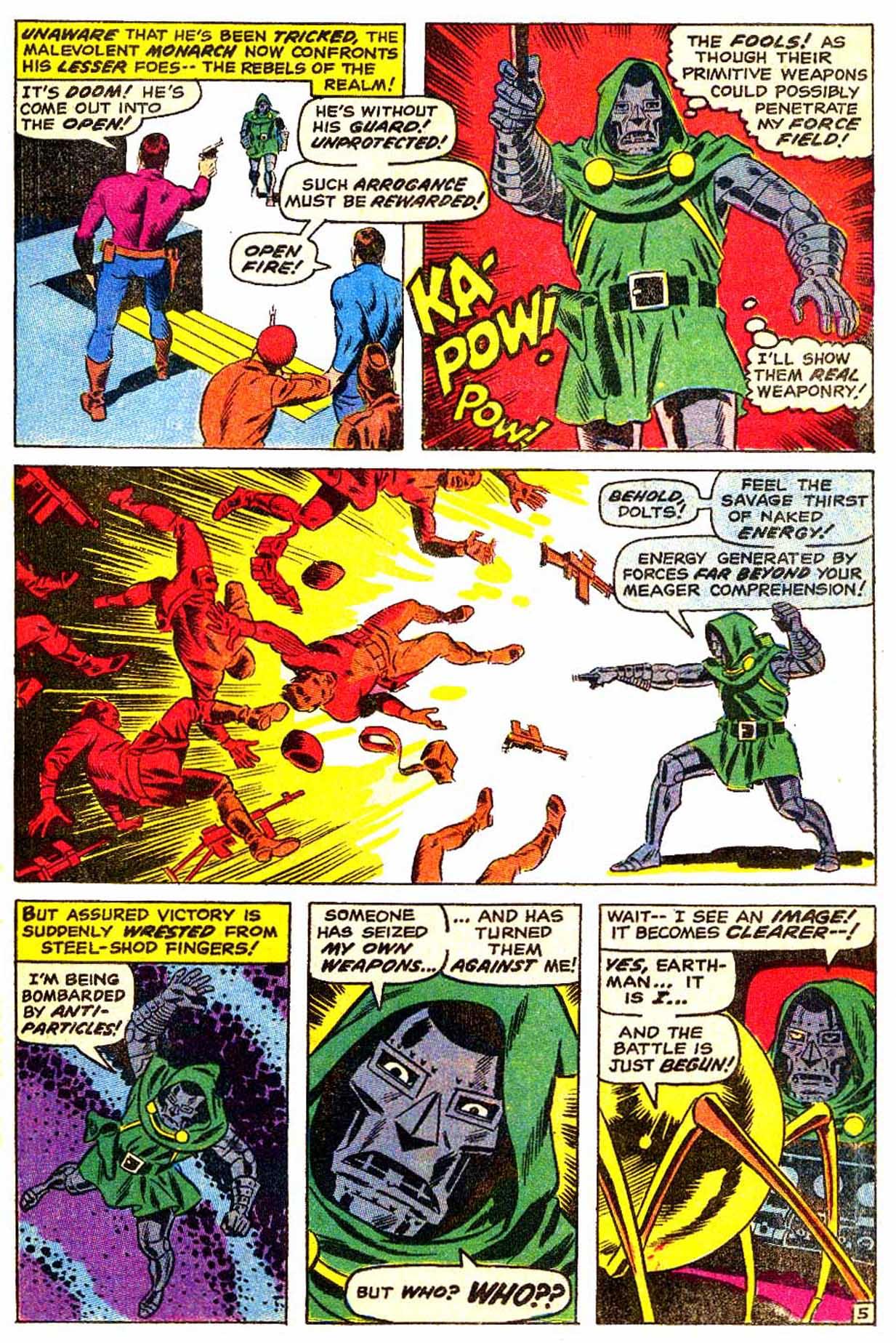 Read online Astonishing Tales (1970) comic -  Issue #3 - 6