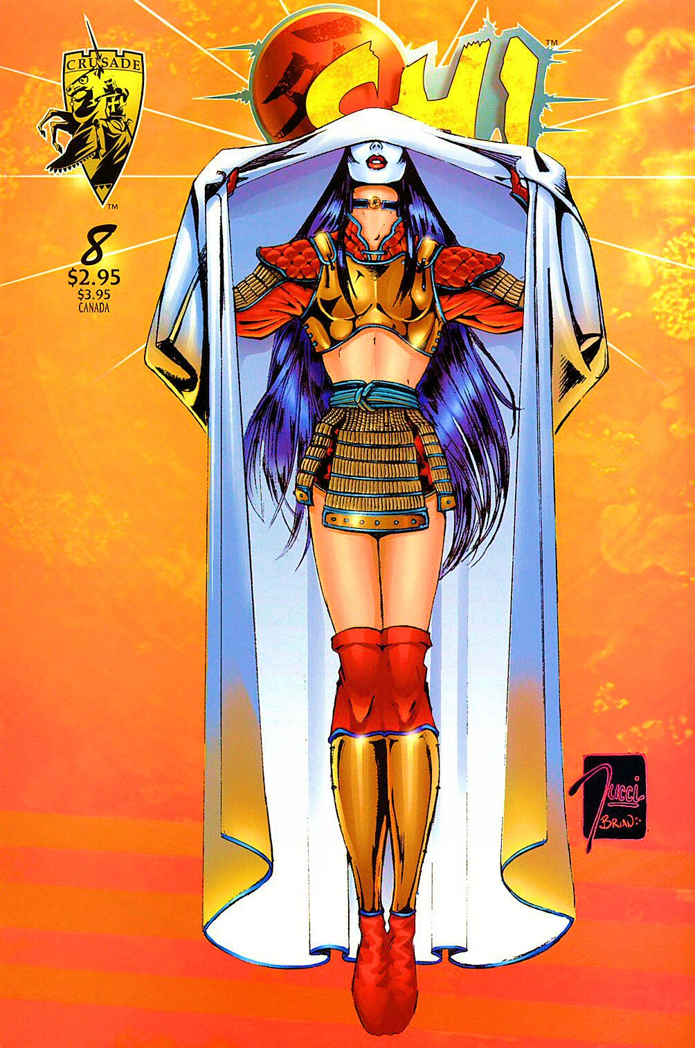 Read online Shi: The Way of the Warrior comic -  Issue #8 - 1