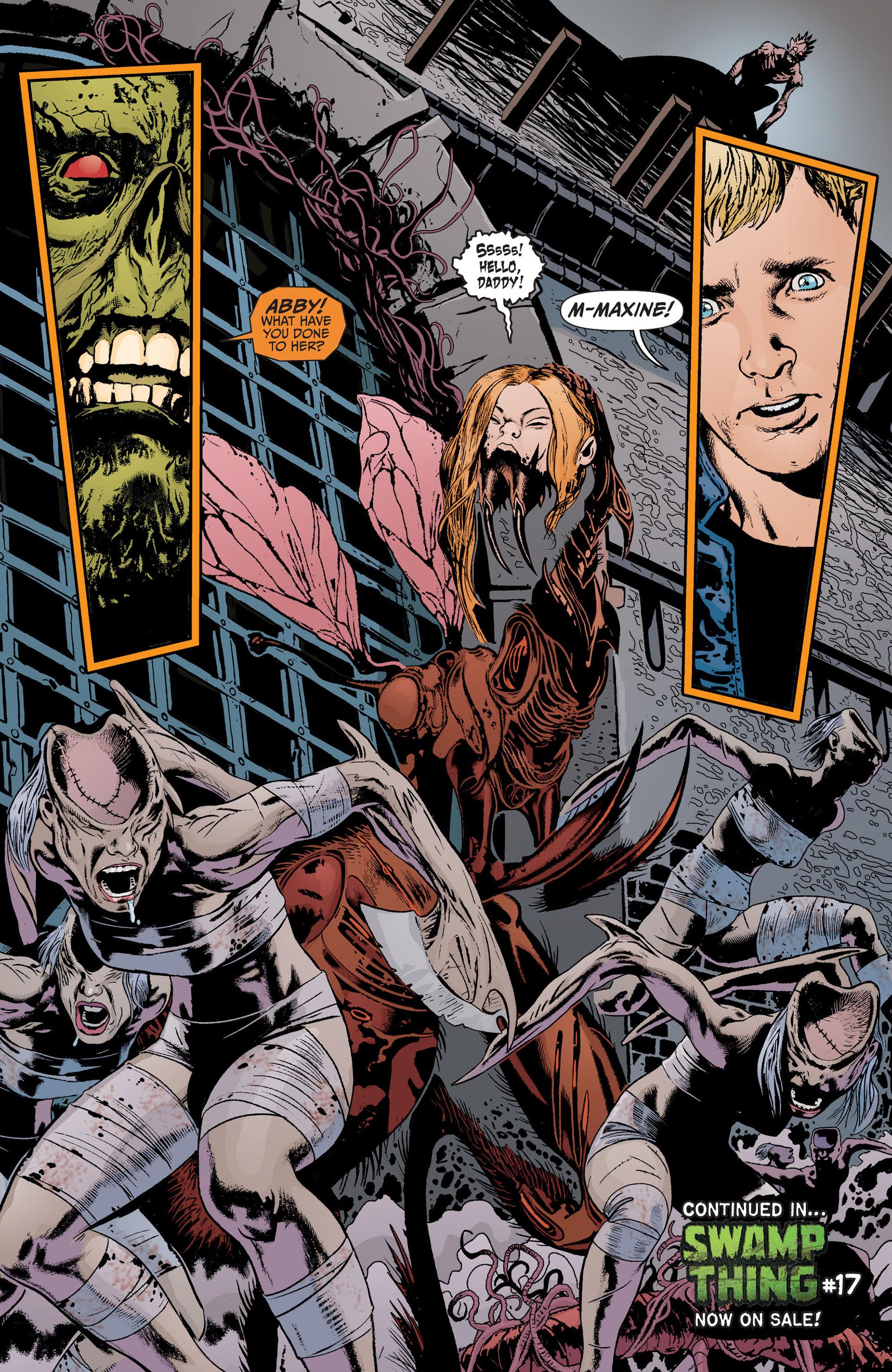 Read online Animal Man (2011) comic -  Issue #17 - 21