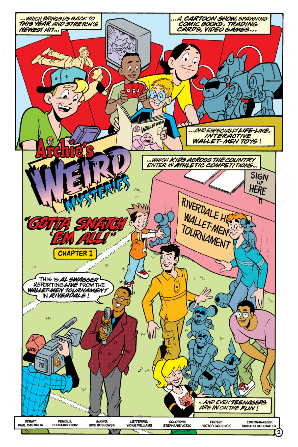 Read online Archie's Weird Mysteries comic -  Issue #17 - 4