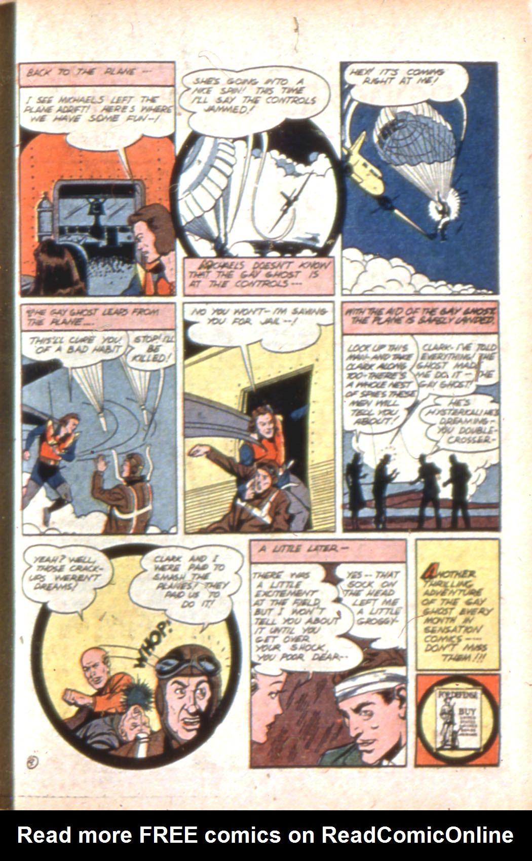 Read online Sensation (Mystery) Comics comic -  Issue #7 - 45
