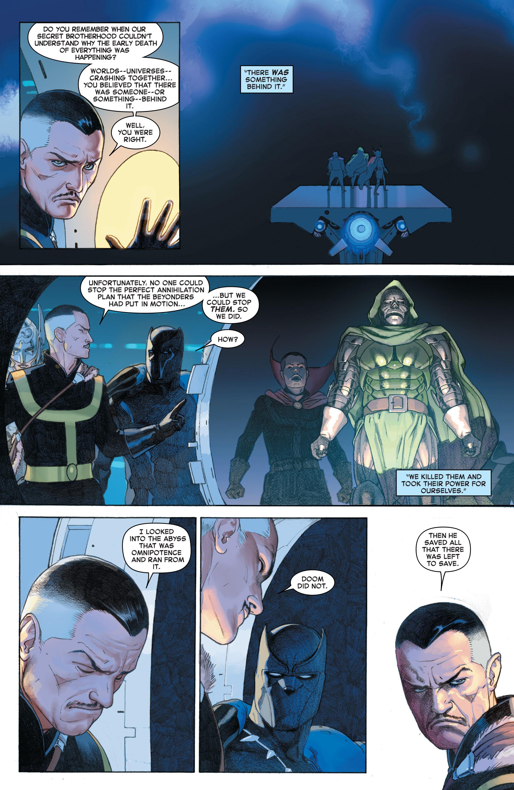Read online Secret Wars comic -  Issue #4 - 16