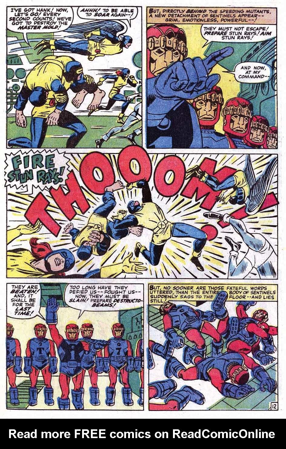 Read online Uncanny X-Men (1963) comic -  Issue #69 - 15