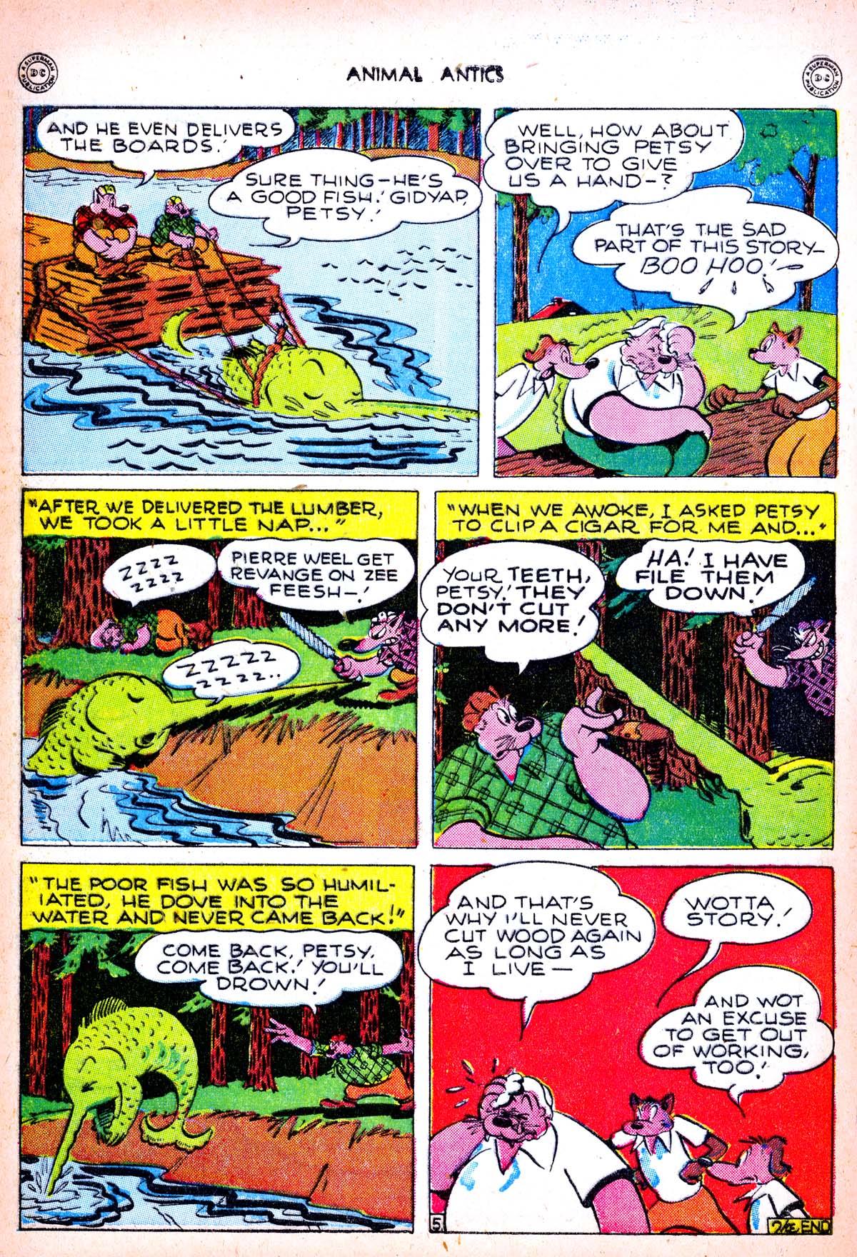 Read online Animal Antics comic -  Issue #6 - 40
