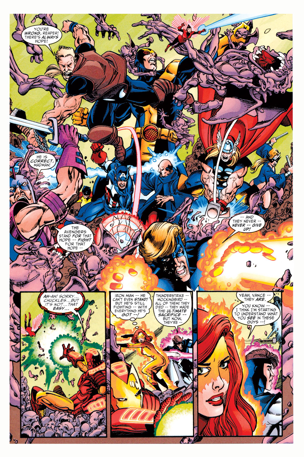 Read online Avengers (1998) comic -  Issue #11 - 15