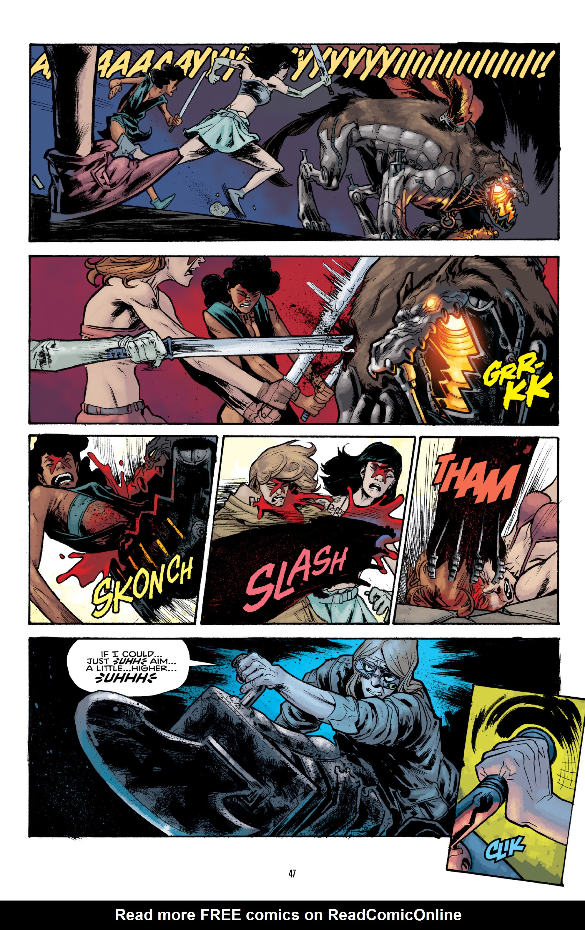 Read online Orchid comic -  Issue # TPB 3 - 47