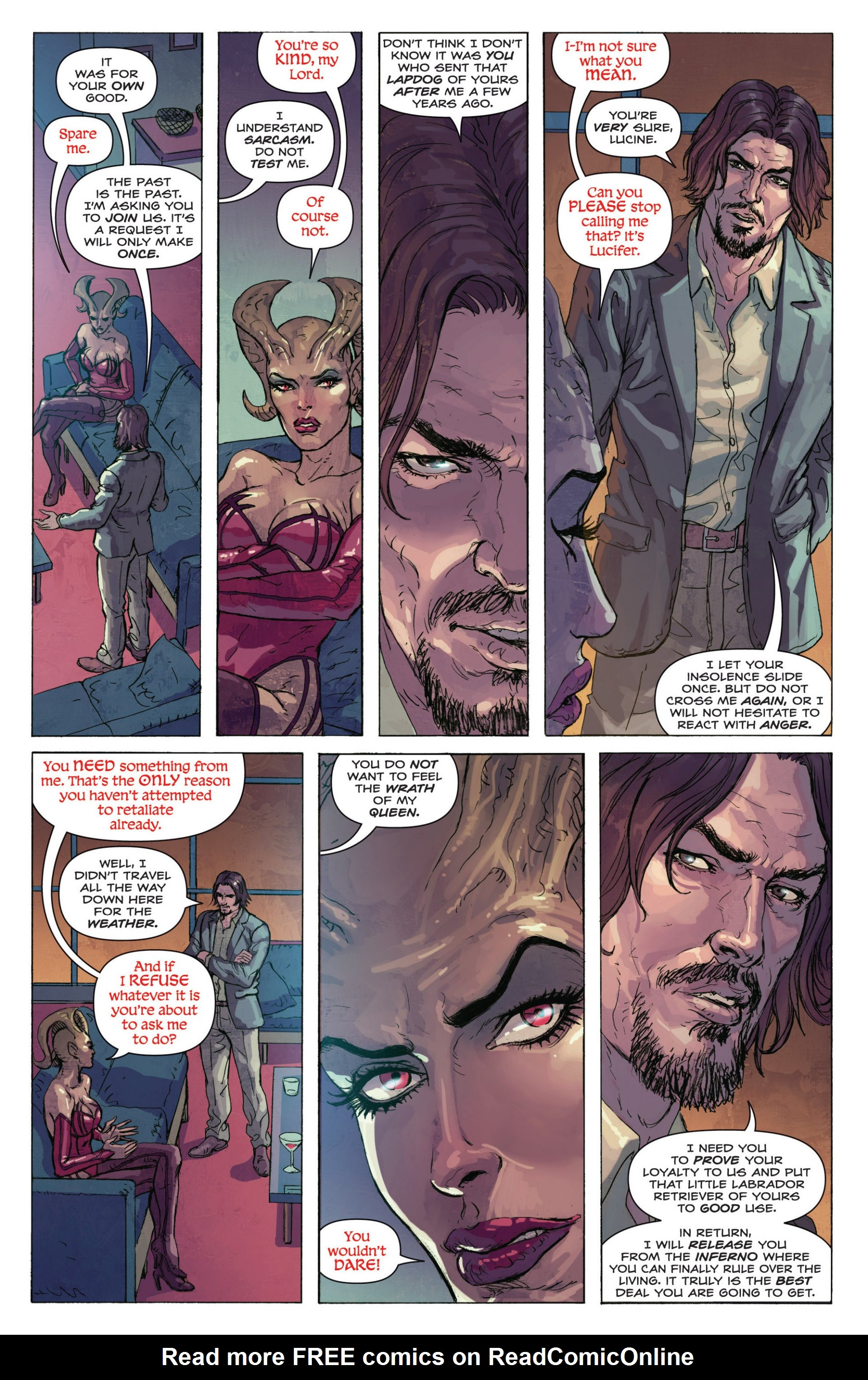 Read online Grimm Fairy Tales presents Inferno: Age of Darkness comic -  Issue # Full - 13