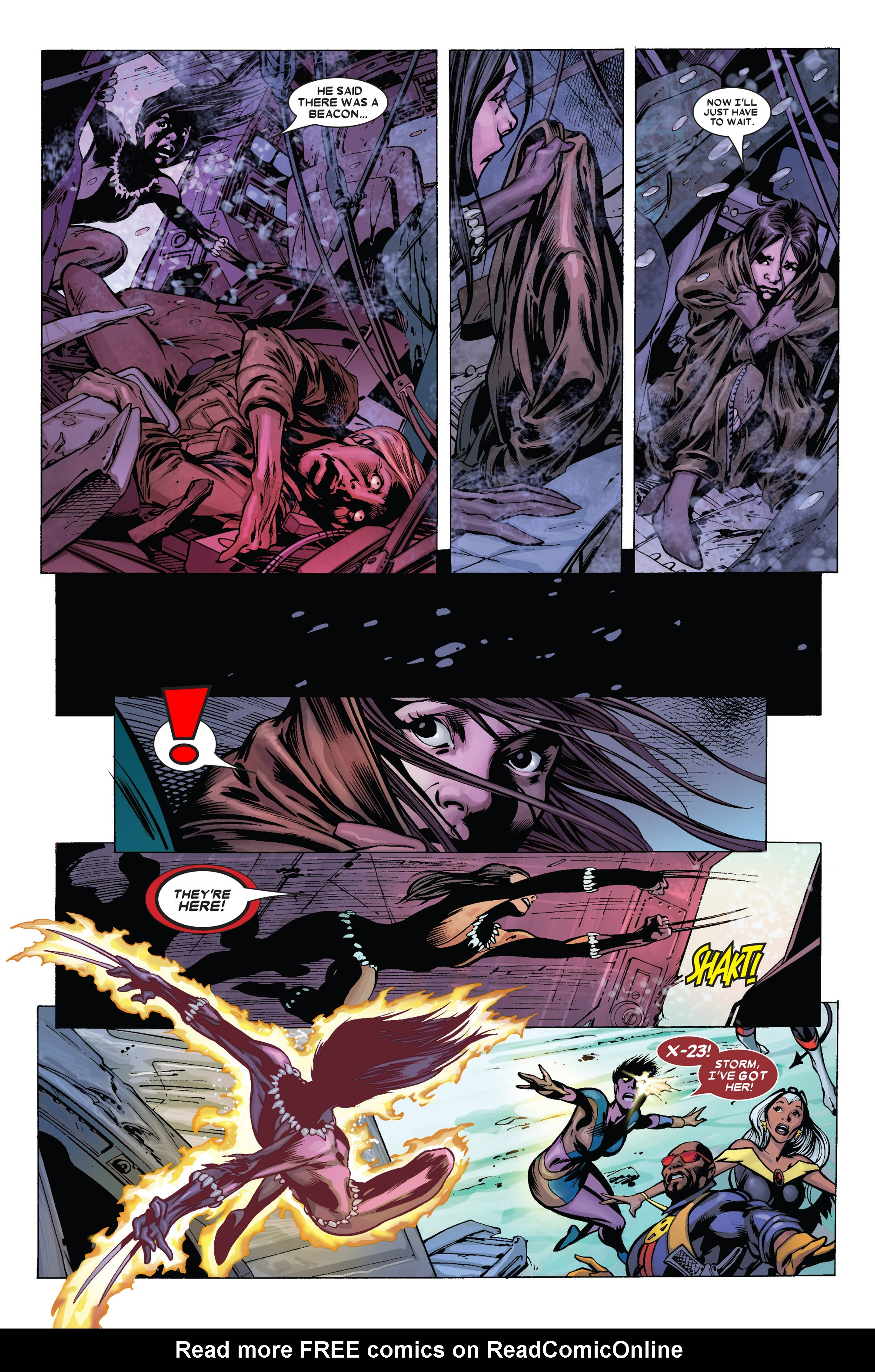 Read online Uncanny X-Men (1963) comic -  Issue #455 - 22