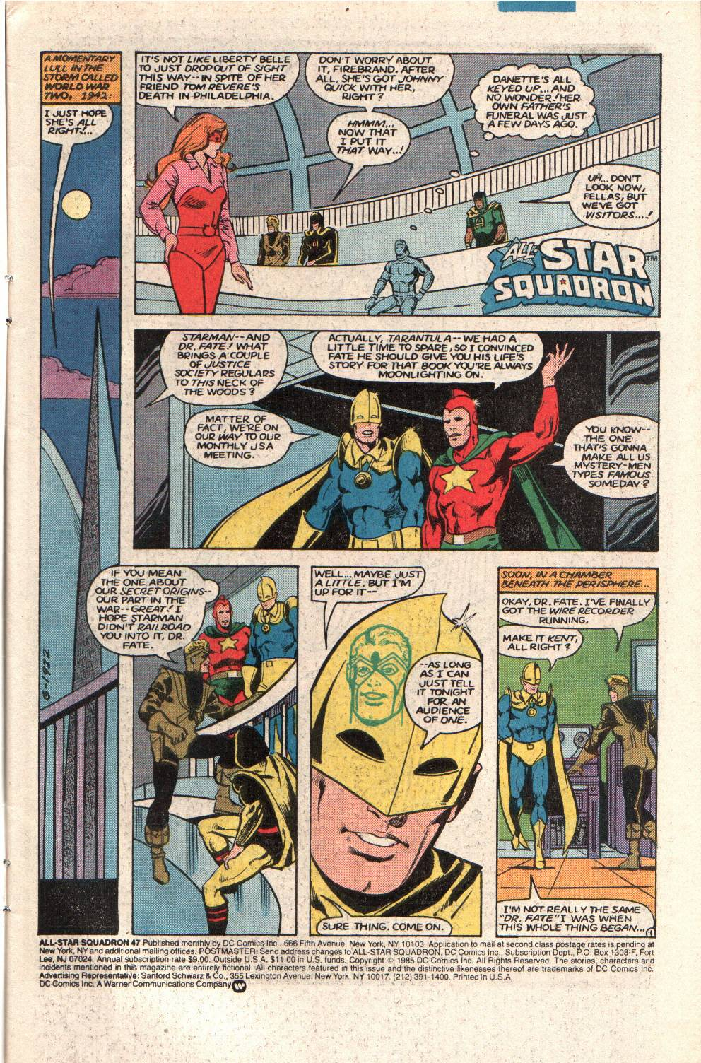 Read online All-Star Squadron comic -  Issue #47 - 3