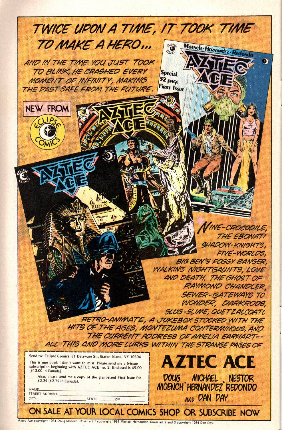 Read online Aztec Ace comic -  Issue #6 - 29