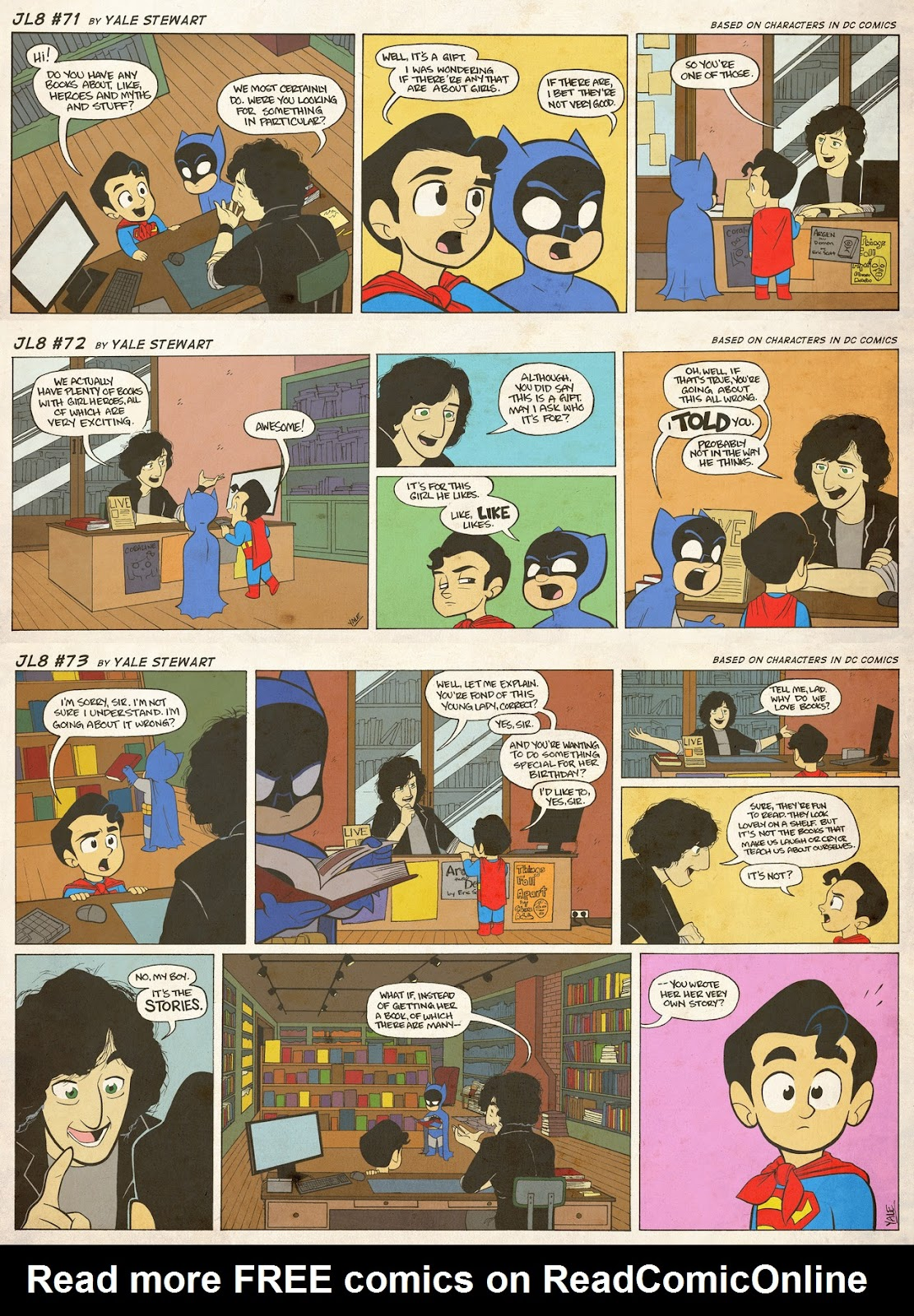 Read online JL8 – The Complete Collection comic -  Issue # TPB (Part 1) - 38