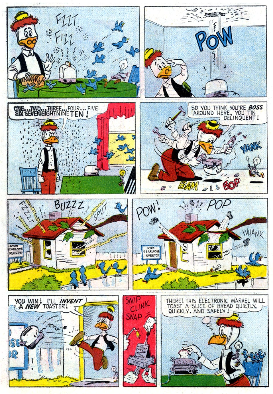 Read online Uncle Scrooge (1953) comic -  Issue #37 - 22