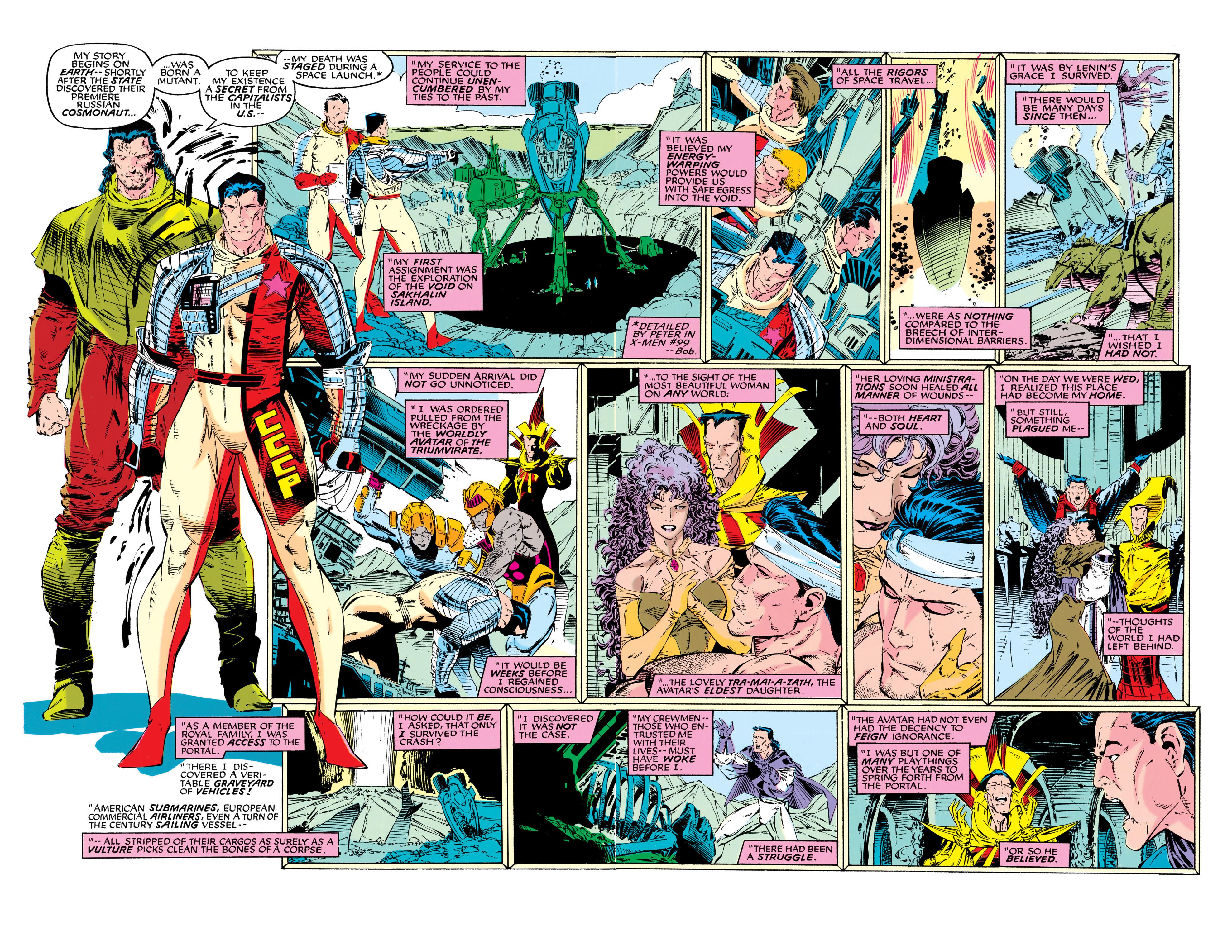 Read online Uncanny X-Men (1963) comic -  Issue #286 - 5