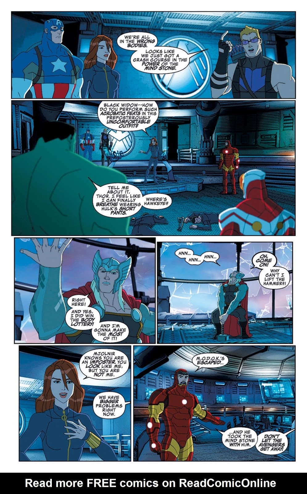 Read online Marvel Universe Avengers Assemble Season 2 comic -  Issue #8 - 13