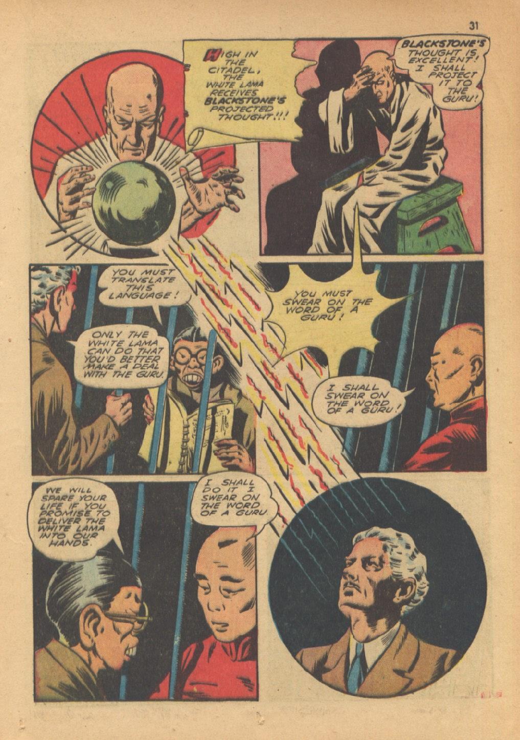 Read online Super-Magician Comics comic -  Issue #13 - 31