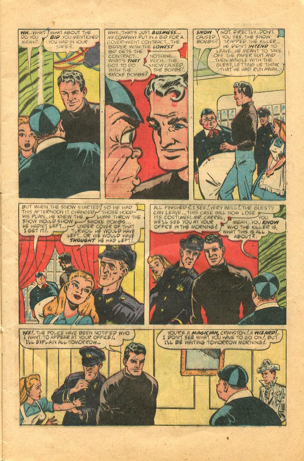 Read online Shadow Comics comic -  Issue #100 - 11