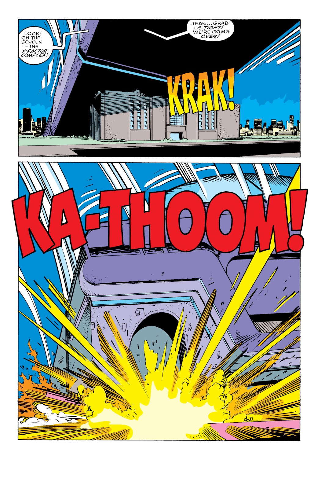 Read online X-Men Milestones: Fall of the Mutants comic -  Issue # TPB (Part 3) - 40