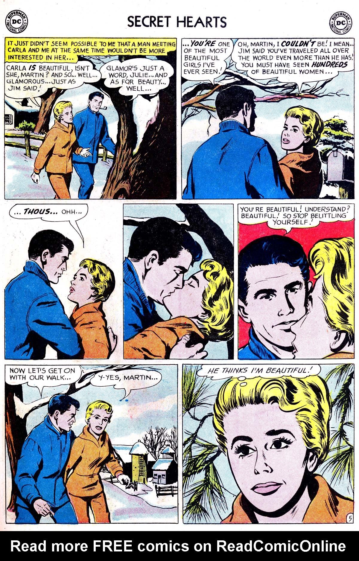 Read online Secret Hearts comic -  Issue #87 - 23