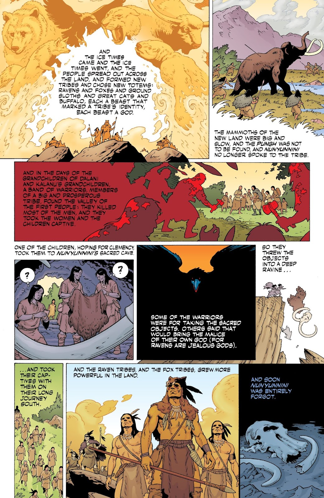American Gods: My Ainsel issue 9 - Page 24