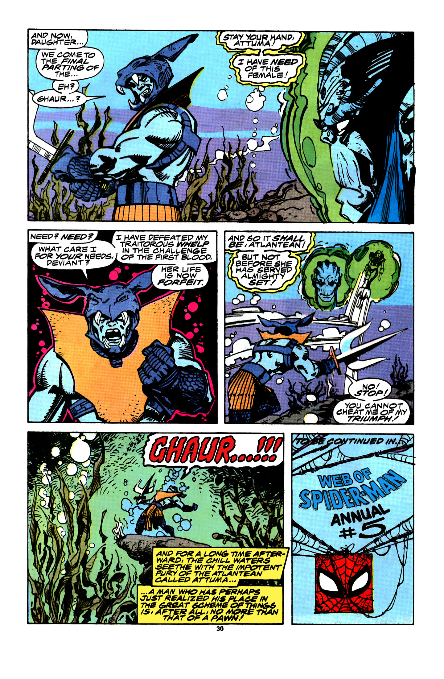 Read online X-Factor (1986) comic -  Issue # _ Annual 4 - 27