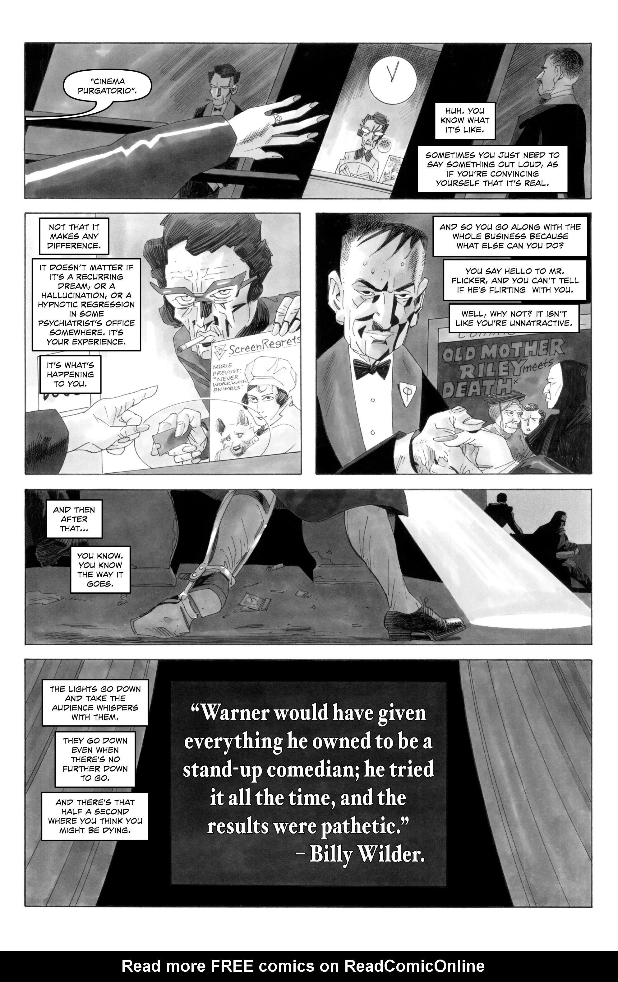 Read online Alan Moore's Cinema Purgatorio comic -  Issue #6 - 5