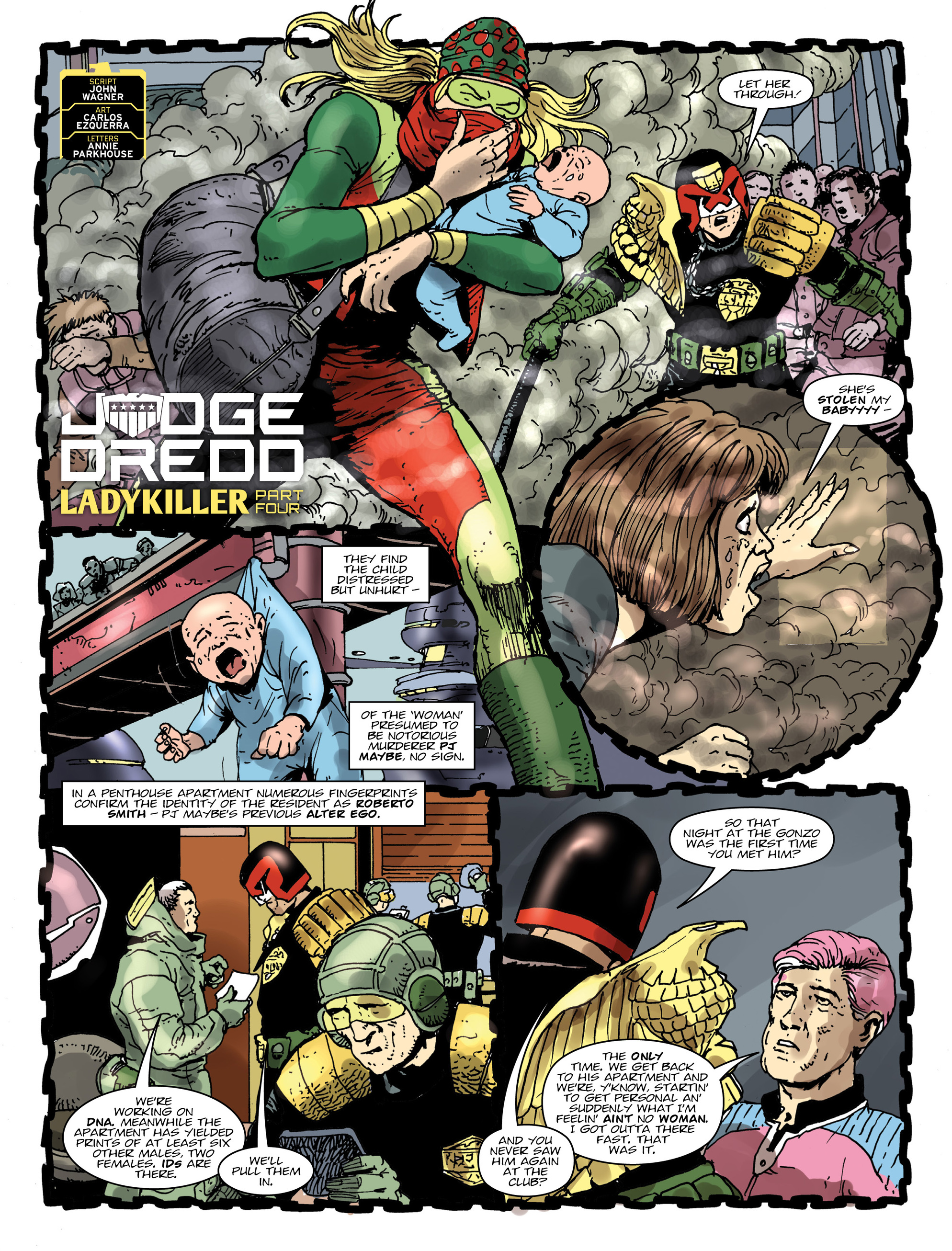 Read online 2000 AD comic -  Issue #1994 - 3