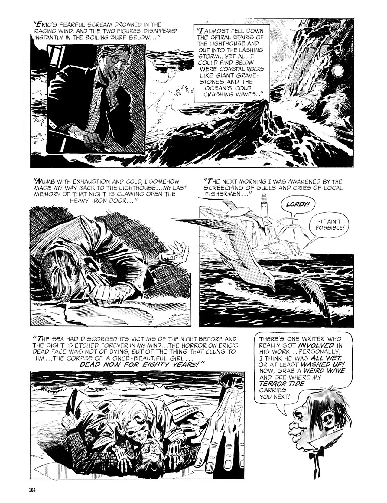 Read online Eerie Archives comic -  Issue # TPB 1 - 105