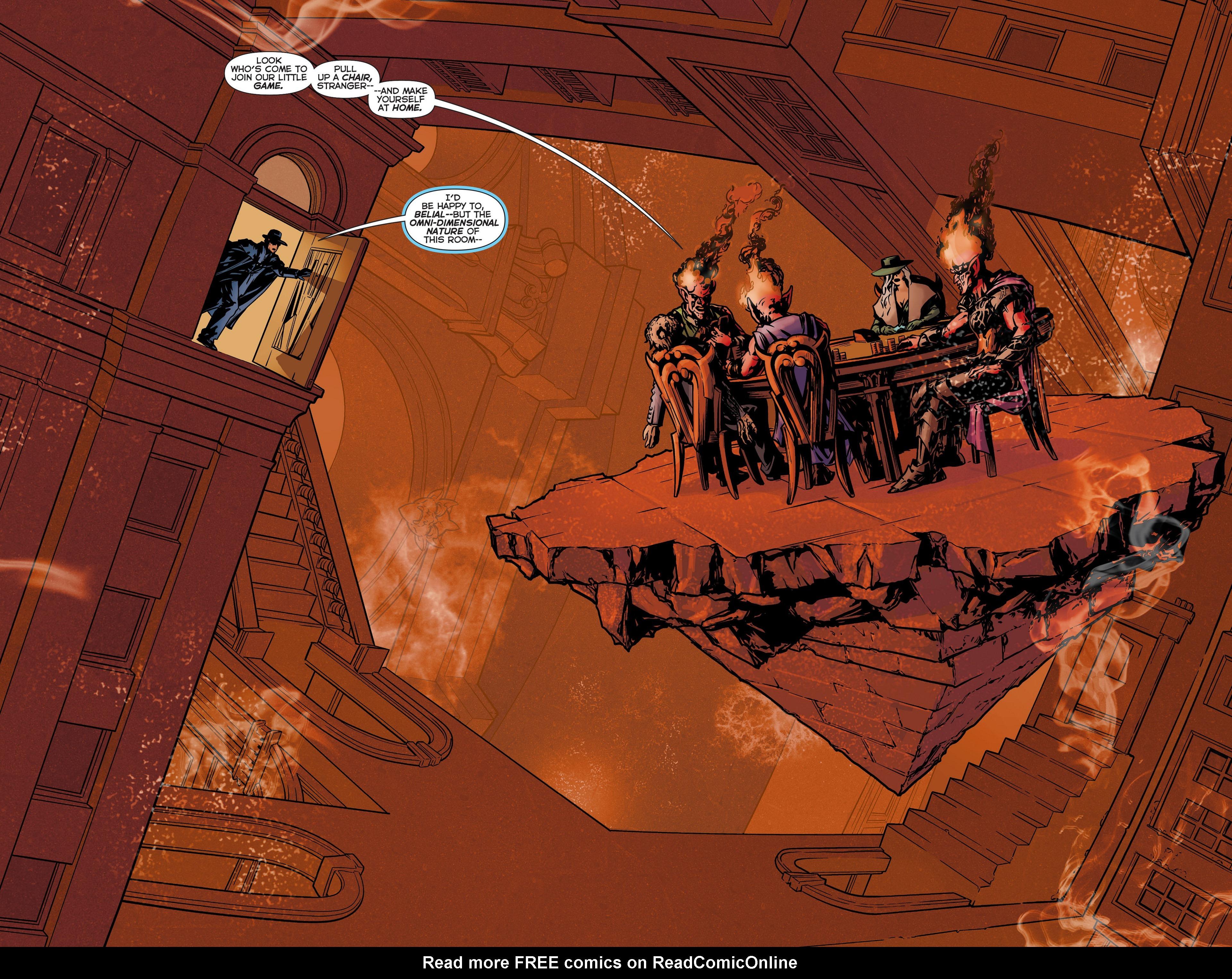 Read online Trinity of Sin: The Phantom Stranger comic -  Issue #6 - 7