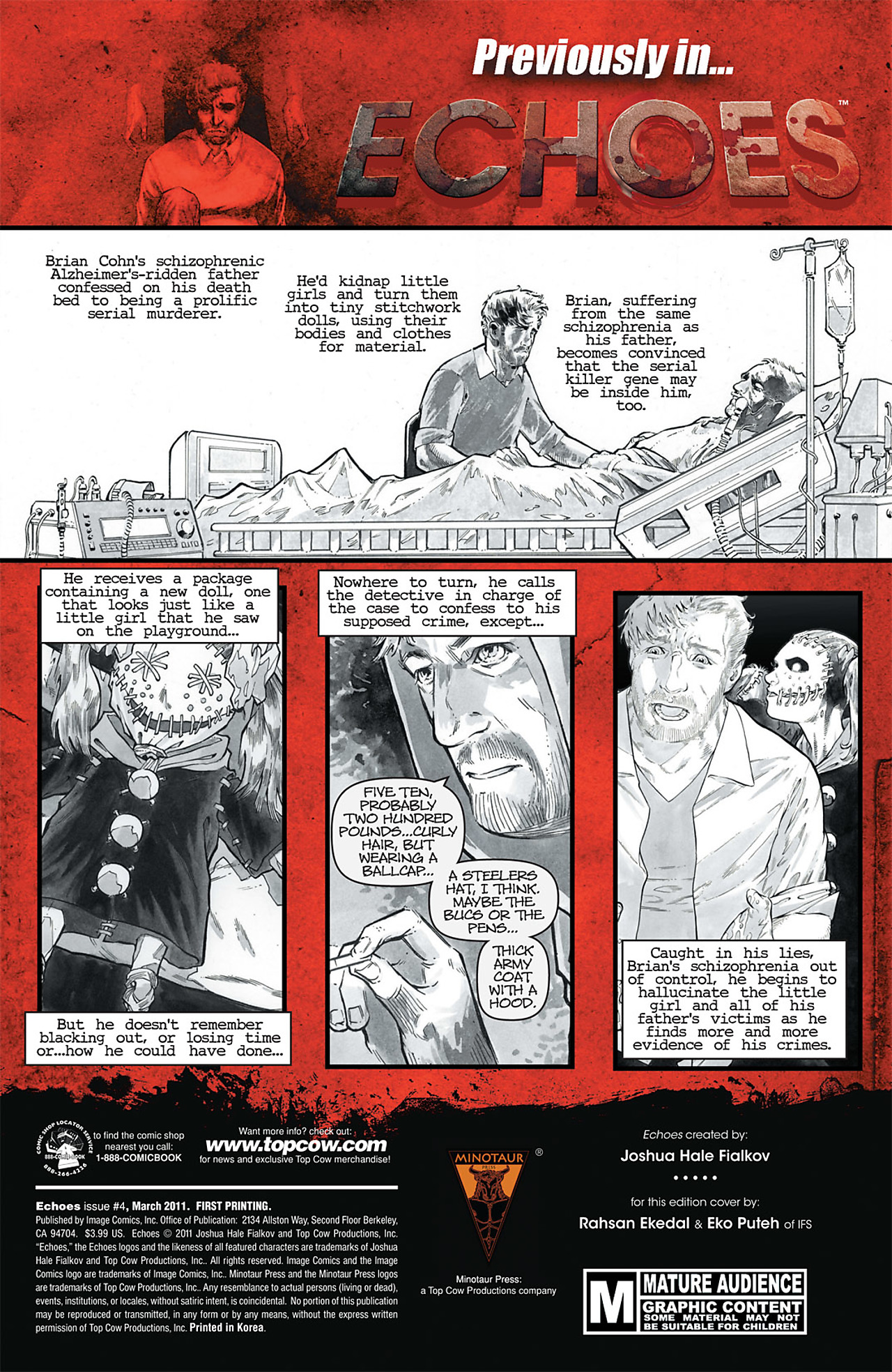 Read online Echoes comic -  Issue # TPB - 86