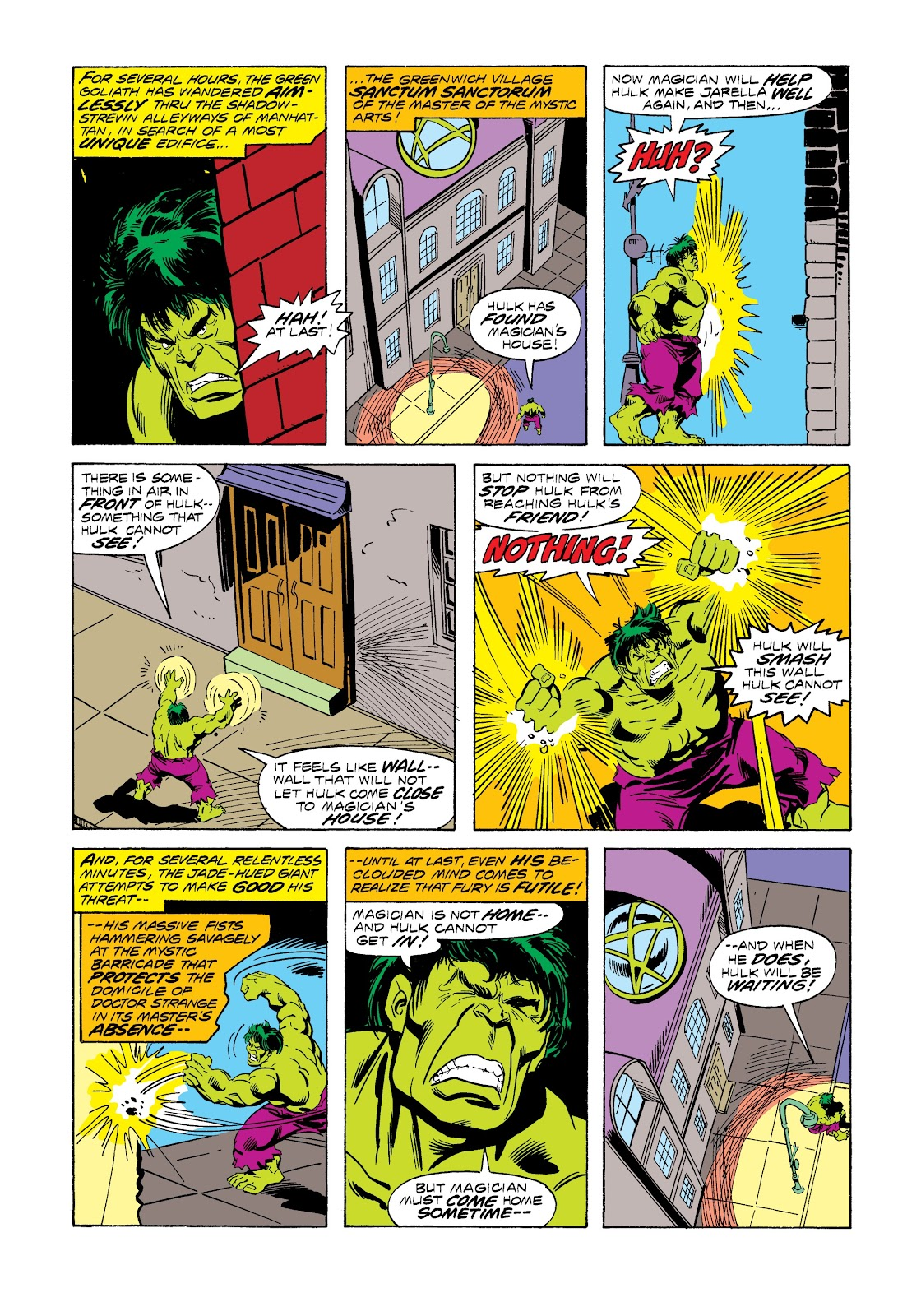 Read online Marvel Masterworks: The Incredible Hulk comic -  Issue # TPB 12 (Part 3) - 20
