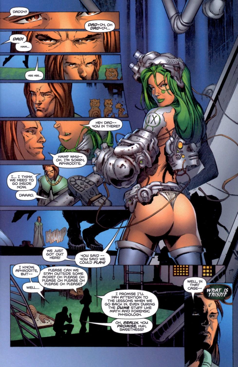 Read online Aphrodite IX (2000) comic -  Issue #4 - 3