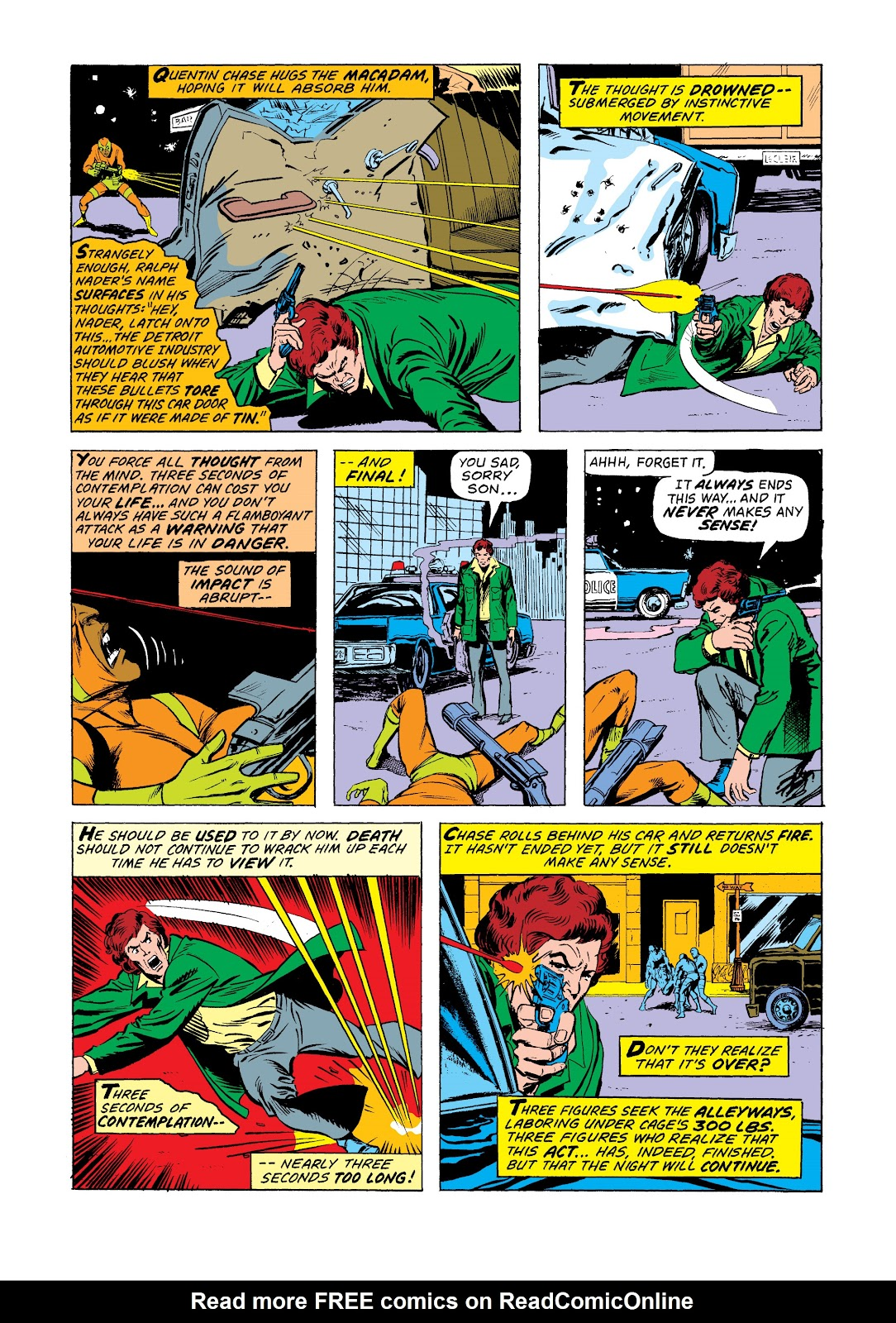 Read online Marvel Masterworks: Luke Cage, Power Man comic -  Issue # TPB 2 (Part 3) - 84