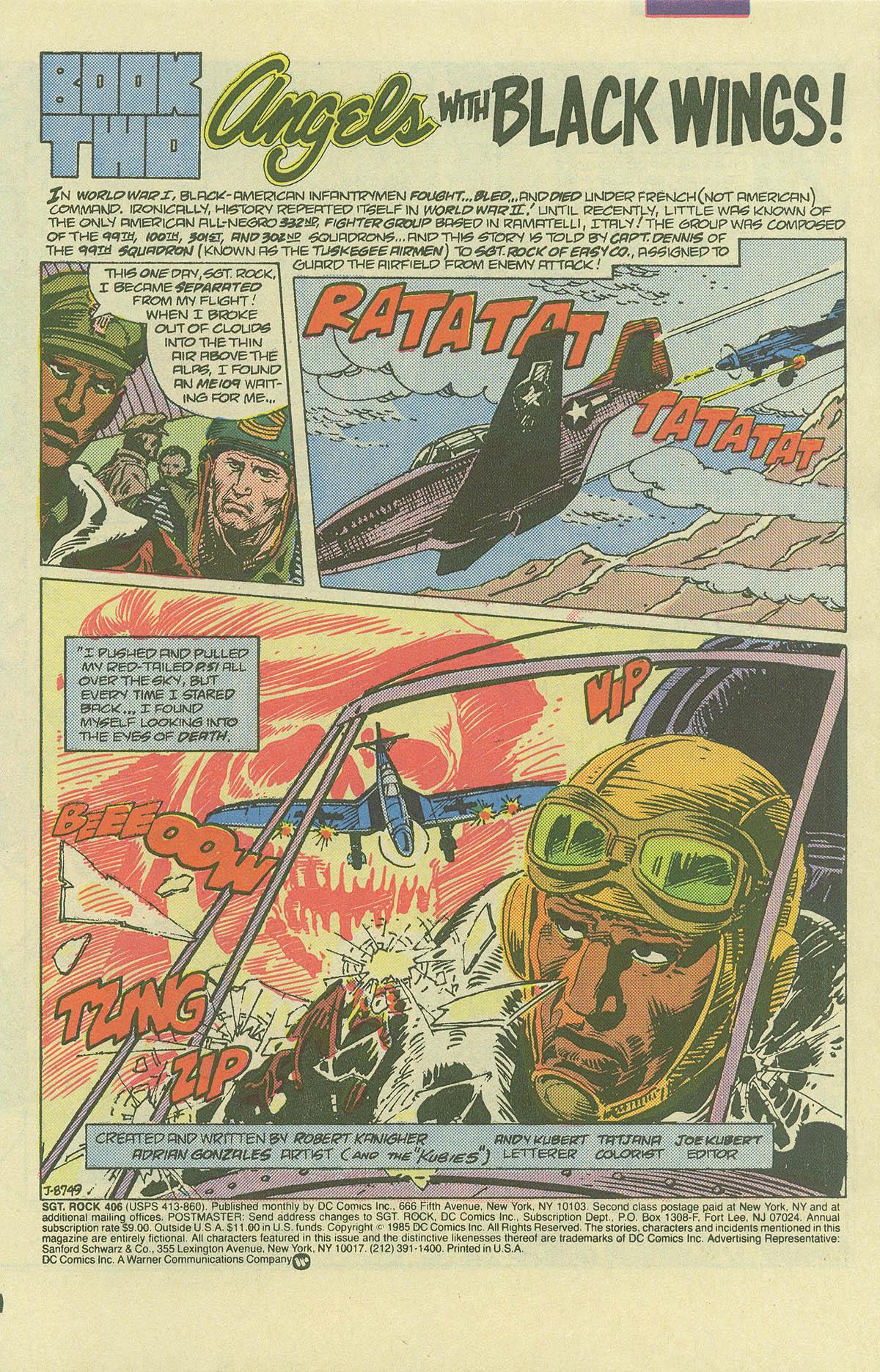 Read online Sgt. Rock comic -  Issue #406 - 3