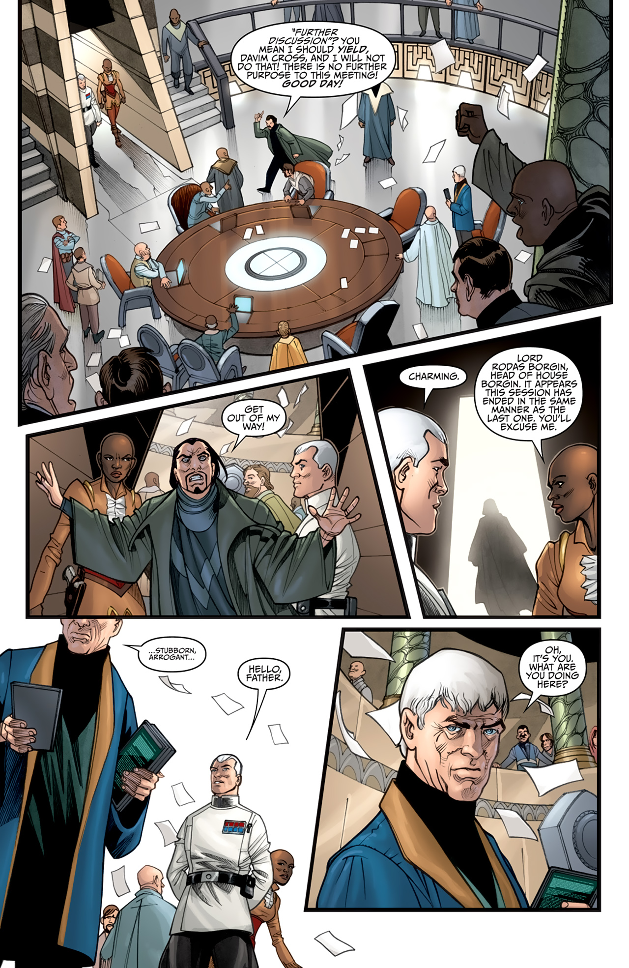 Read online Star Wars: Agent Of The Empire - Hard Targets comic -  Issue #2 - 4