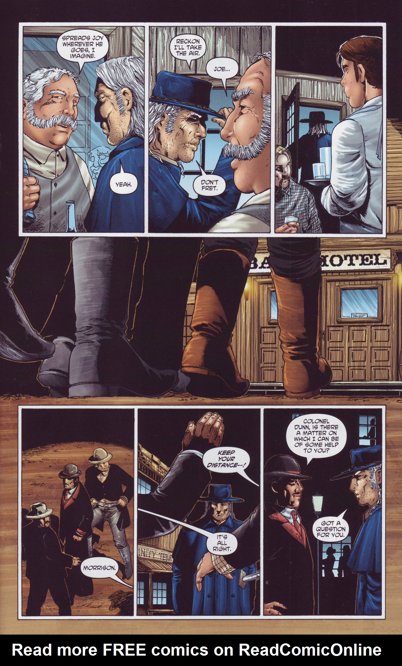 Read online Garth Ennis' Streets of Glory comic -  Issue #4 - 23